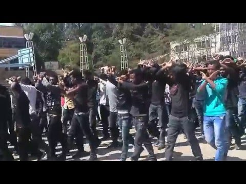 Haramaya University Harar campus OROMO students protest