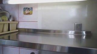 видео Настольная сушилка для посуды с поддоном