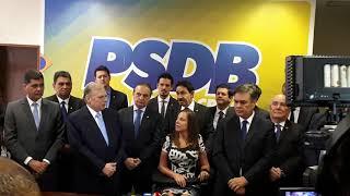 Tasso Jereissati lançado à presidência do PSDB