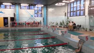 видео Нормативы по плаванию на дистанции 50 метров