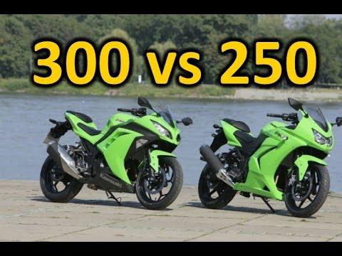 ninja 300 vs 250, why the 300 is better. - YouTube