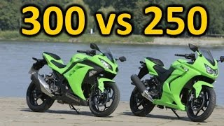 ninja 300 vs 250, why the 300 is better.
