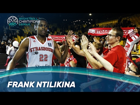 Frank Ntilikina - Young talent from SIG Strasbourg in the Basketball Champions League