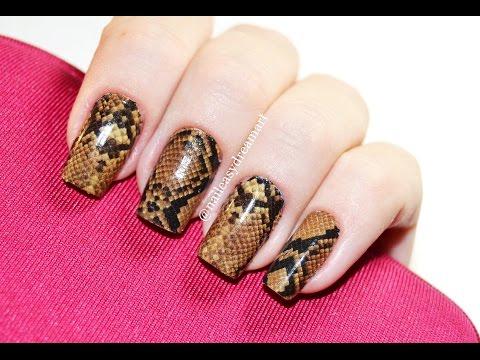 Дизайн Ногтей Змеиная Кожа | Snake Skin Nail Art Tutorialиз YouTube · С высокой четкостью · Длительность: 2 мин29 с  · Просмотры: более 15000 · отправлено: 03.06.2015 · кем отправлено: NailEasyDreamArt