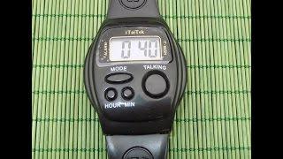 Китайські говорять годинник - Talking electronic watch