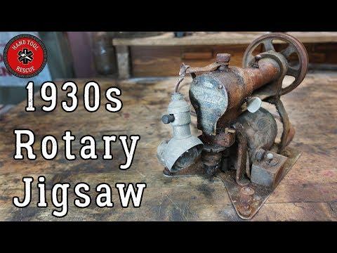 1930s Rotary Jigsaw (Cutawl) [Restoration]