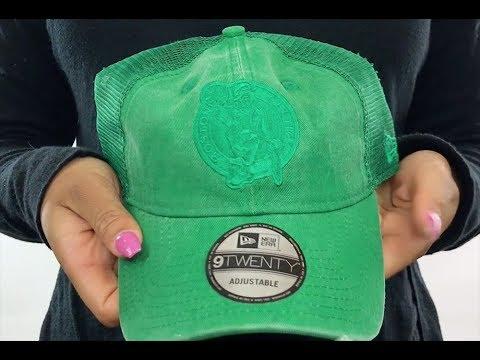 7e0509071fd Celtics  TONAL-WASHED TRUCKER SNAPBACK  Green Hat by New Era - YouTube