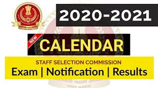 SSC New Calender 2020-2021 | Full Details Discussion | Must Watch!!