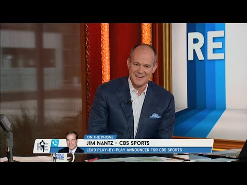 NFL Sportscaster Jim Nantz Calls in to The RE Show - 9/16/15