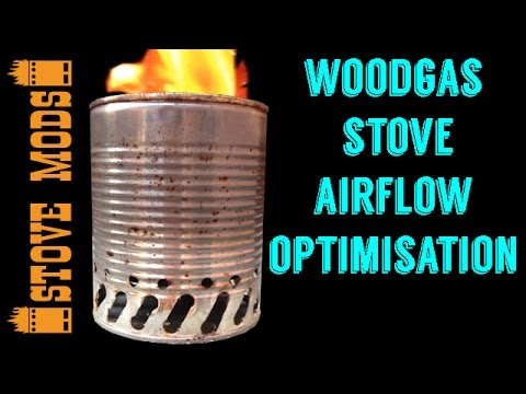 WOODGAS STOVE AIRFLOW OPTIMISATION AND SECOND BOILING TEST