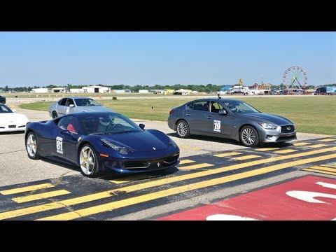 500whp Infiniti Q50 DEMOLISHES Ferrari 458!!!