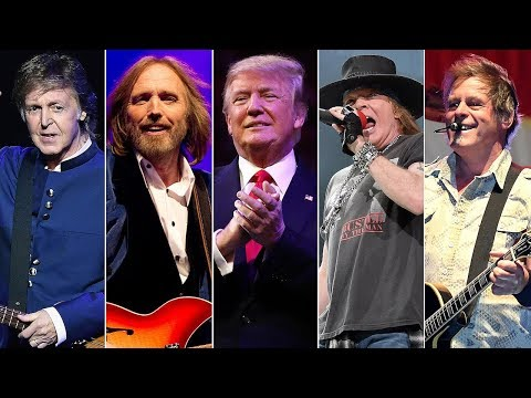 Rock Stars React to President Trump: Year One