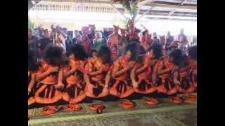 Tari Saman Gayo Lues saat Tampil pada acara Geriten Sibayak Lingga