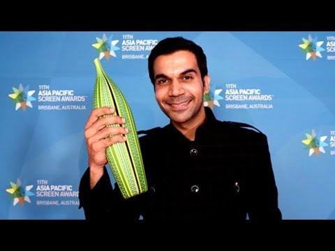 Rajkummar Rao Bags Best Actor Trophy At Asia Pacific Screen Awards