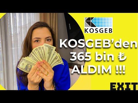 KOSGEB 365.000 ₺ desteğini aldım ! Hibe ŞARTLARI neler ? Nasıl alınır ? Girişimcilik desteği