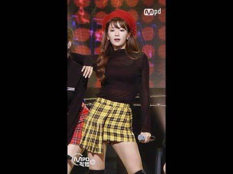 [MPD직캠] 에이핑크 윤보미 직캠 Boom Pow Love Apink yoon bo mi Fancam @엠카운트다운_160929