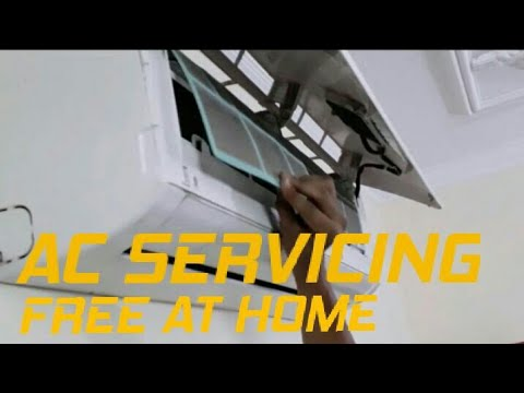AC Servicing Free at Home Cleaning Filters | Fresh Air | Inovatrix Guys