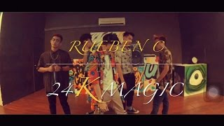 Bruno Mars - 24K Magic Dance Choreography by RuebenC