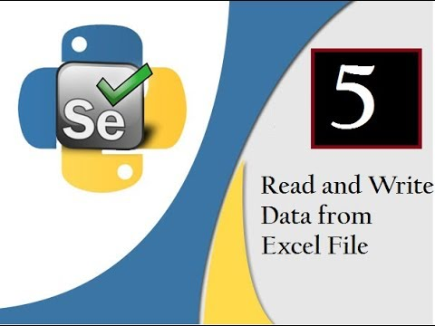 Selenium Python : Read & Write Data to Excel (OpenPyXl)[CL/Wtsapp:  +91-8743913121-to Buy Course]