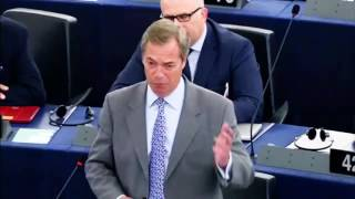 Your attempt to bully the Brits is not working - Nigel Farage MEP