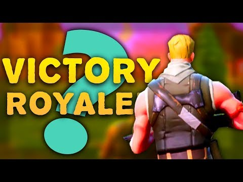 MY FIRST VICTORY ROYALE!? | Fortnite: Battle Royale | Let's Play Fortnite PvP Gameplay Funny Moments