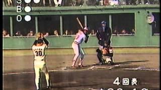 1984 江川卓 3  日米野球