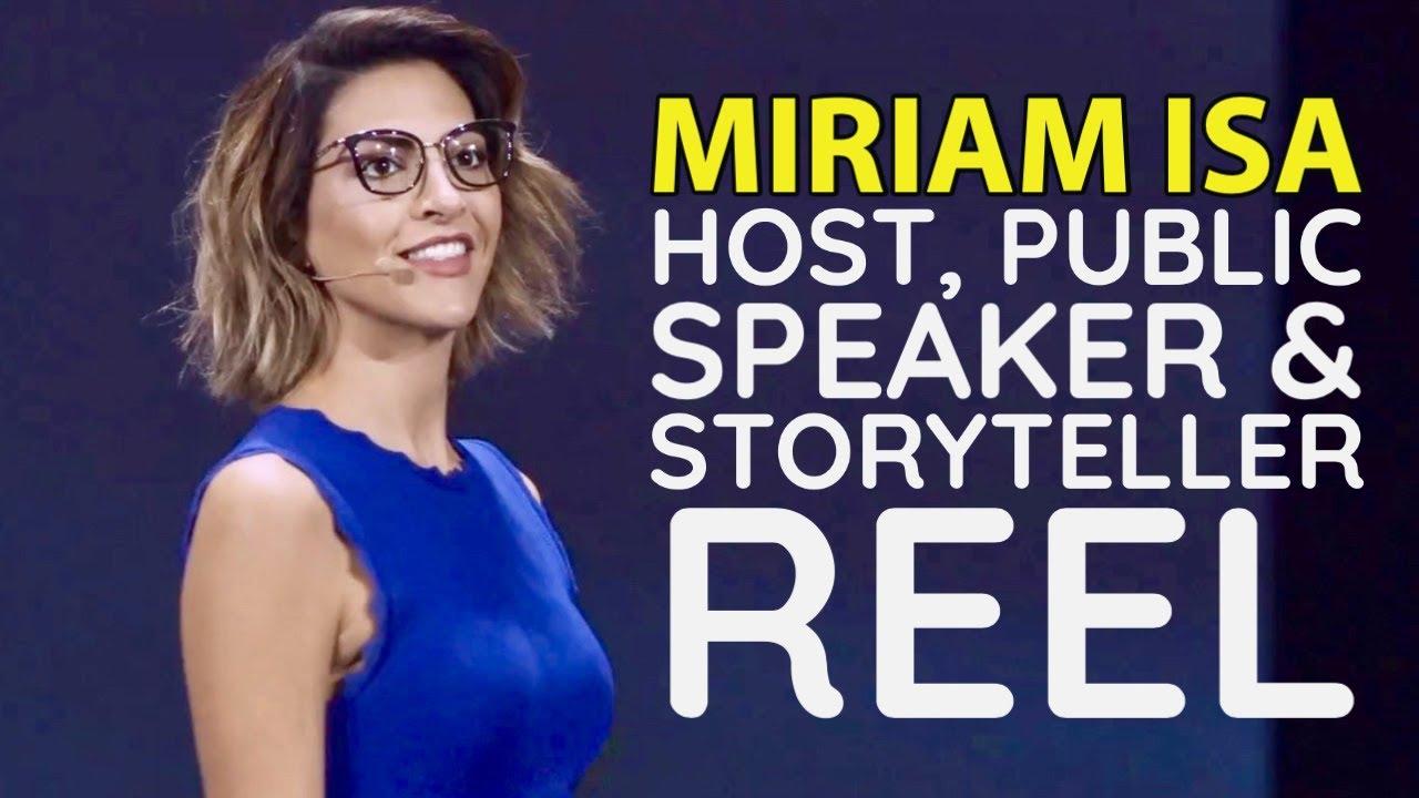 Miriam Isa | MC, Storytelling & Public Speaking Reel