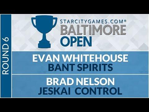 SCGBALT: Round 6 - Evan Whitehouse VS Brad Nelson [Modern]