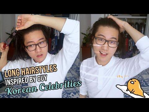 Long Men's Hairstyles Inspired by Male Korean Celebrities