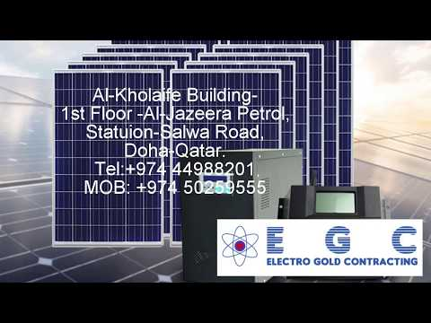 EGC QATAR | Home Automation | Solar System | Electrical & Fiber cable | Lighting Systems