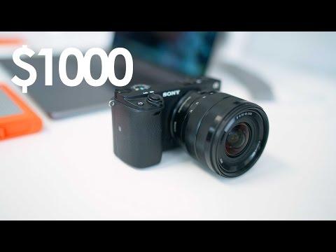 BEST Mirrorless Camera Under $1000 - 2017