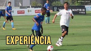 Veja os lances do jogo-treino entre o Sub-20 do Corinthians e o Sub-17 da Seleção Brasileira