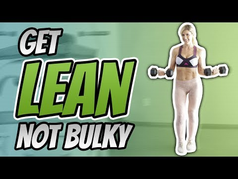 My Full WEEK of Workouts [How I train to get LEAN not Bulky]
