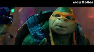 Черепашки ниндзя 2  Русский трейлер 2016