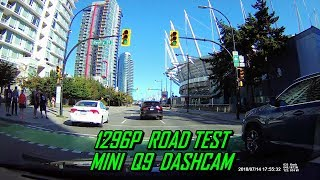 Mini Q9 DVR Dashcam Road Test
