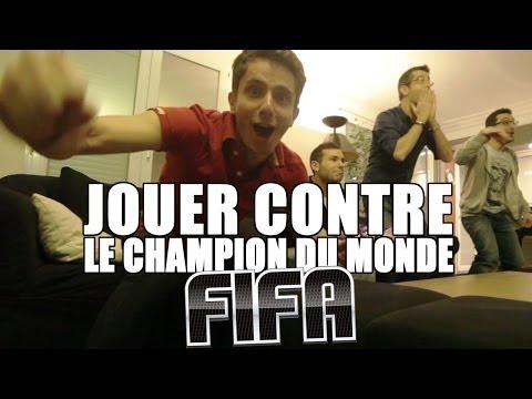 Jouer contre le champion du monde de FIFA - GAMEPLEY