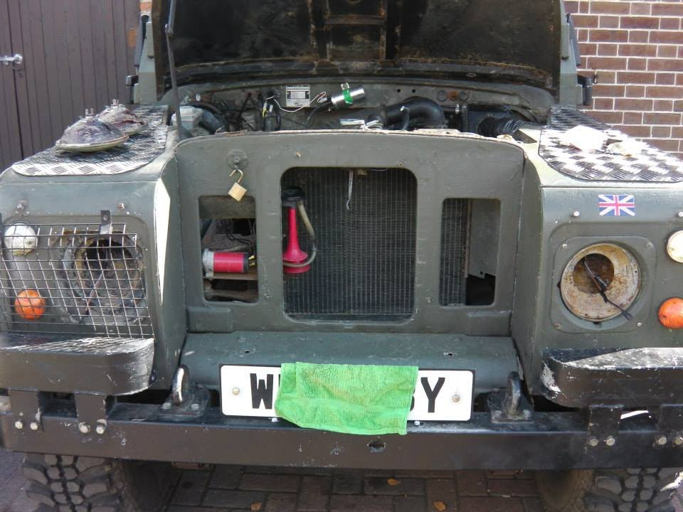 Land Rover Series 3 - Re wire - Part 3 - - YouTube