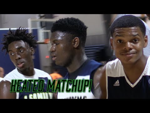 (CRAZY) Zion Williamson vs Ronaldo Segu & Nassir Little INTENSE MATCHUP!