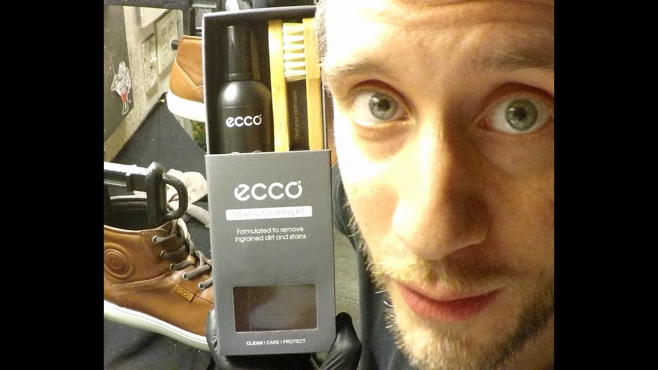 89eacb5f84 Ecco midsole cleaning kit, Shoe Care, ASMR