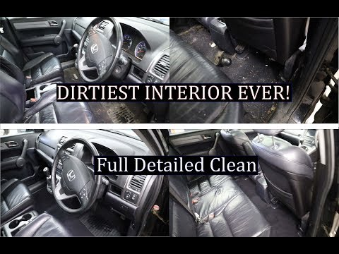 DIRTIEST INTERIOR EVER || CAR DETAILING