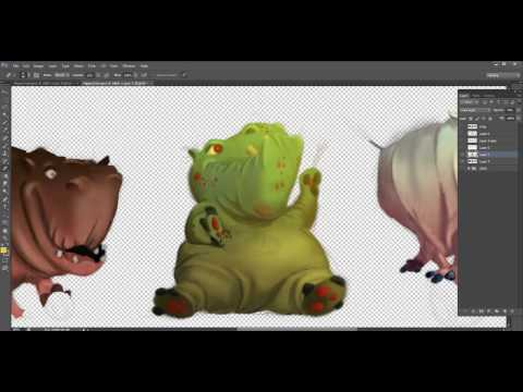 Painting a Character- Revising a Student Project with Phil Dimitriadis