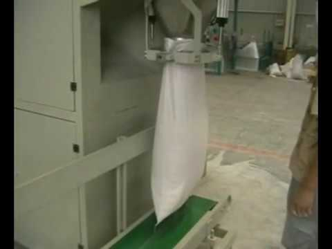 Semi Auto Bag Filler For Feed, Rated Feed, Granules Jumbo Bag Filling Machine