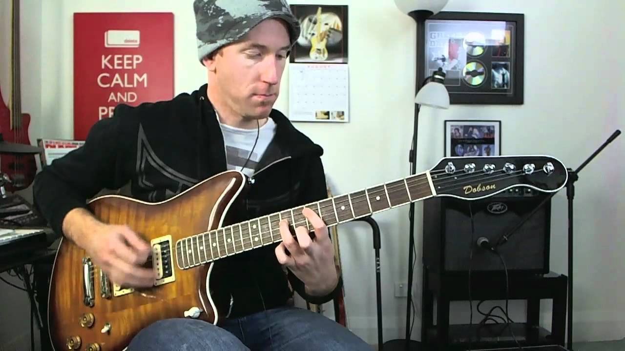 Rock Guitar Lesson Power Chords With Drop D Drone Foo Fighters