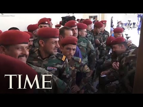 Early Voting For Iraq Military Ahead Of May 12 Parliamentary Elections | TIME