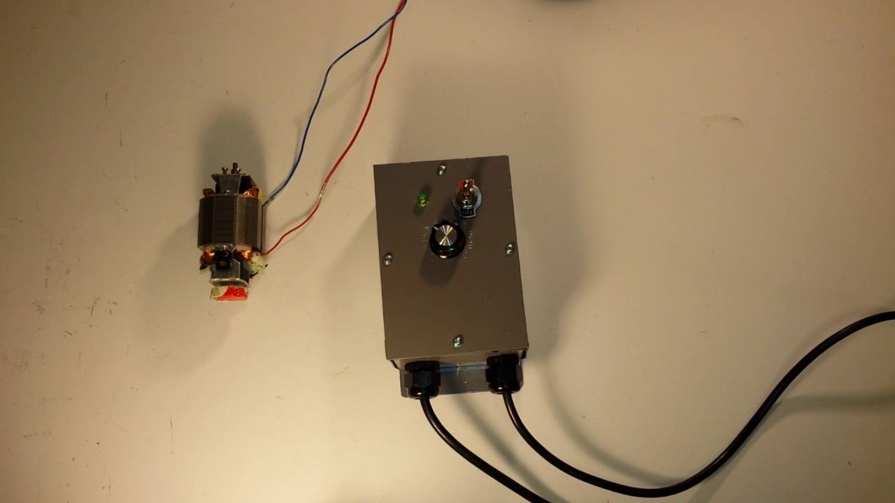 Dc Motor Speed Control With Soft Start Youtube Router Circuit