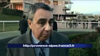 Chute spectaculaire de jockeys à l'hippodrome Marseille Borély
