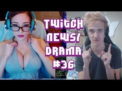 Twitch Drama News #36 Ninja N Word, Sadokist, Pink Sparkles, Mitch Jones TrainWreckTV