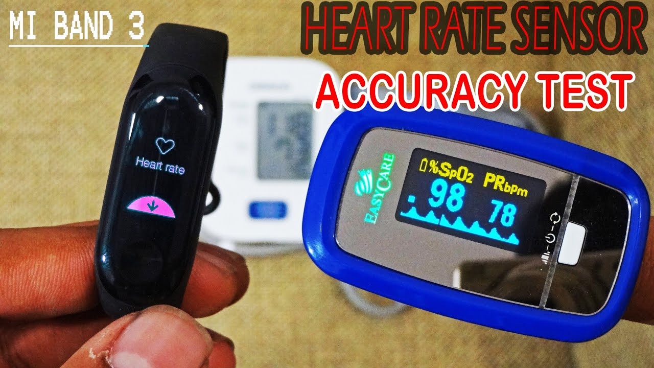 Xiaomi Mi Band 3 Heart rate❤ Monitor accuracy test Results are shocking😲|