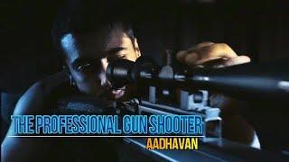 The Professional Gun Shooter | Aadhavan | Harris Jayaraj | Intro Song