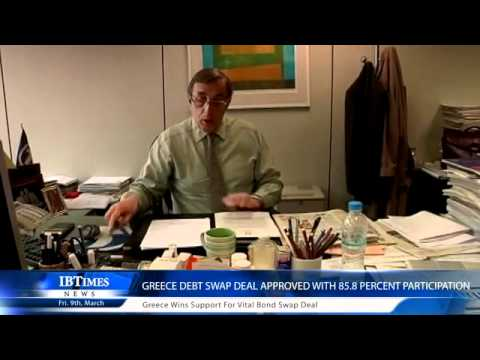 Greece announces 85.8% Private Creditors Have Accepted Bond Swap Offer